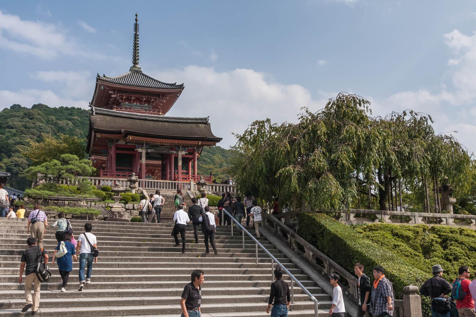 The West Gate of Kiyomizudera