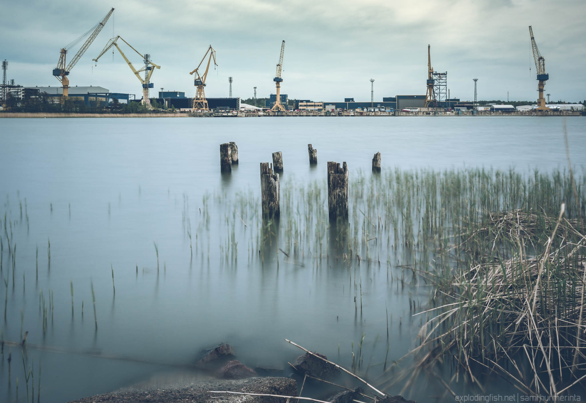 Perno Shipyard in Raisio